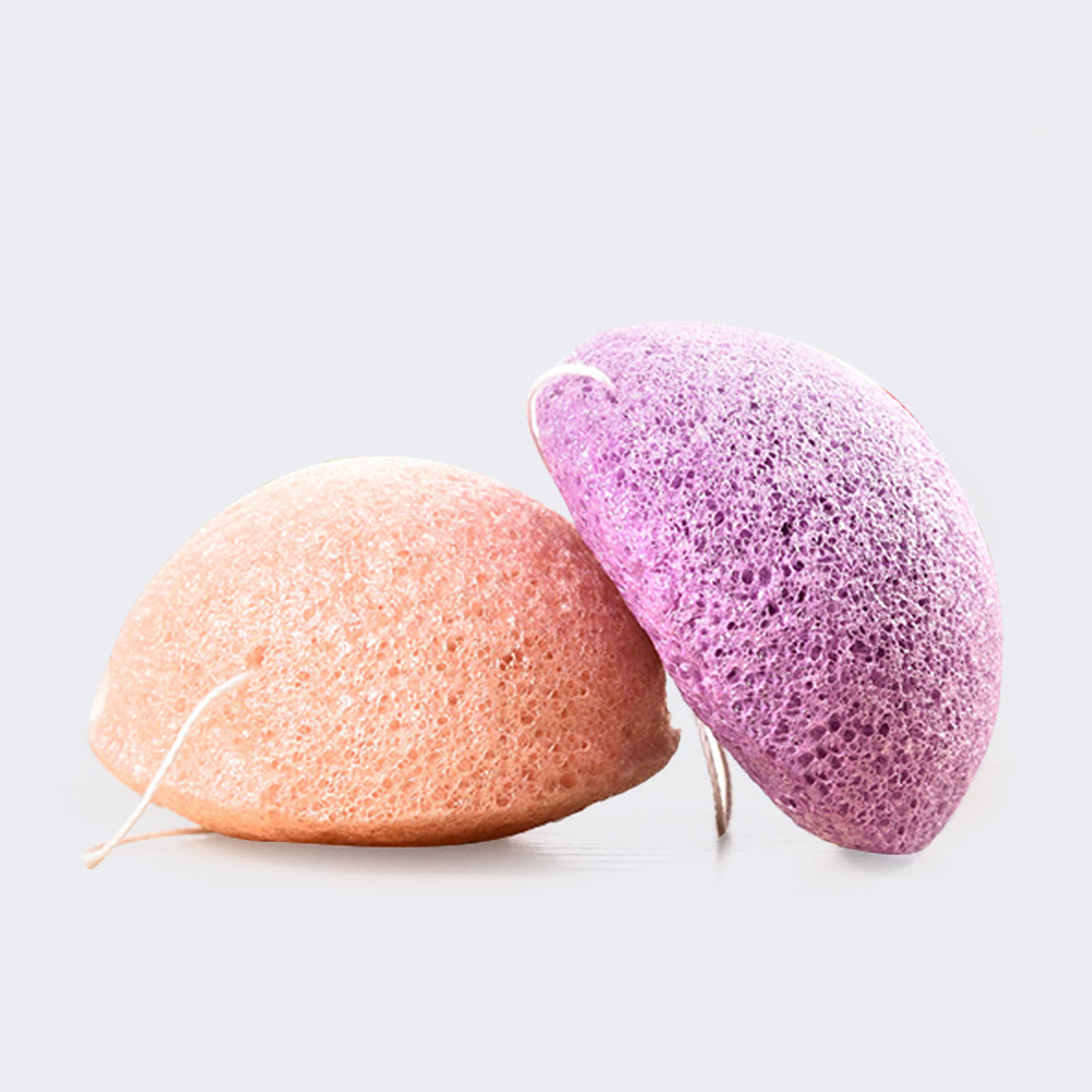 AMEIZII 6 Colors Konjac Cleansing Sponge Puff